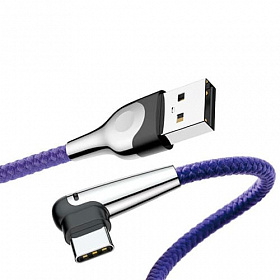 Baseus sharp-bird mobile game cable USB For Type-C 3A 1M Blue